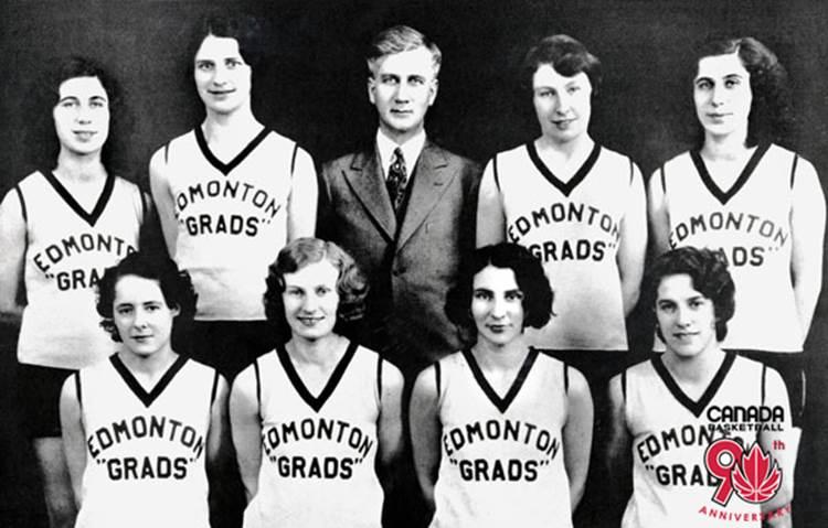 edmonton grads basketball team notes